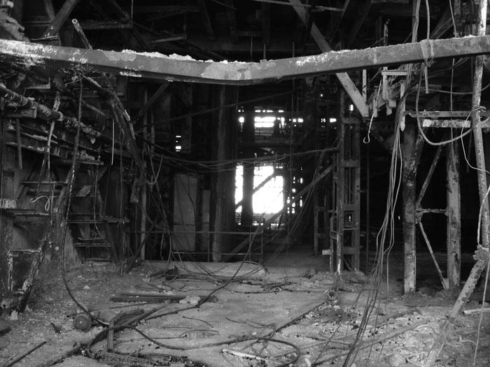 завод брошенный сталк