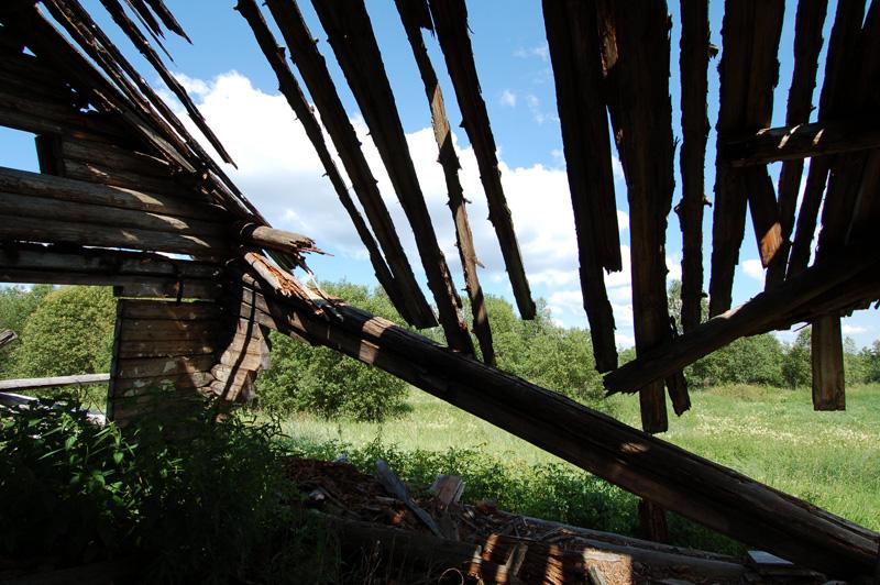 брошенный дом на салозере