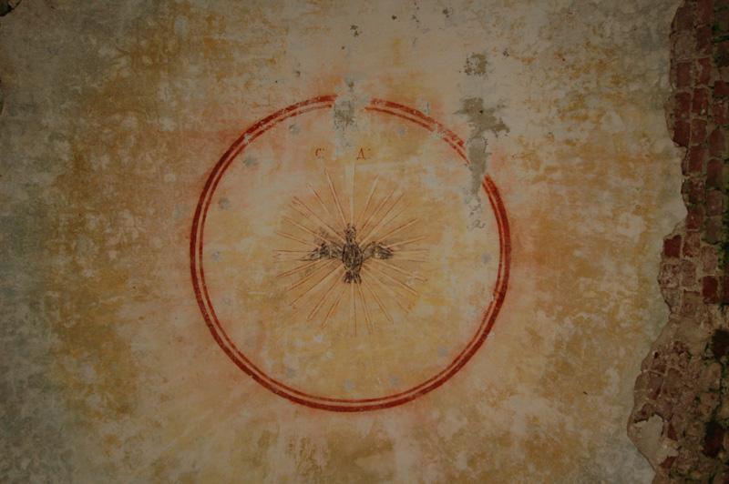 фреска из церкви села ундозеро в вологодской области
