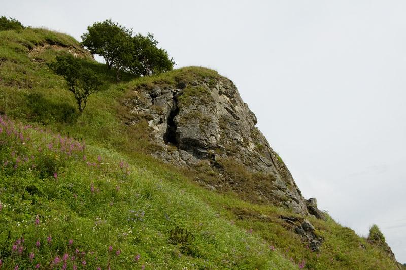 скалы магадан