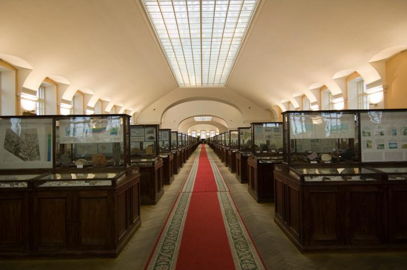 геологический музей чернышева в санкт-петербурге