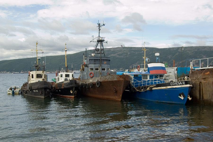 корабли в бухте нагаево