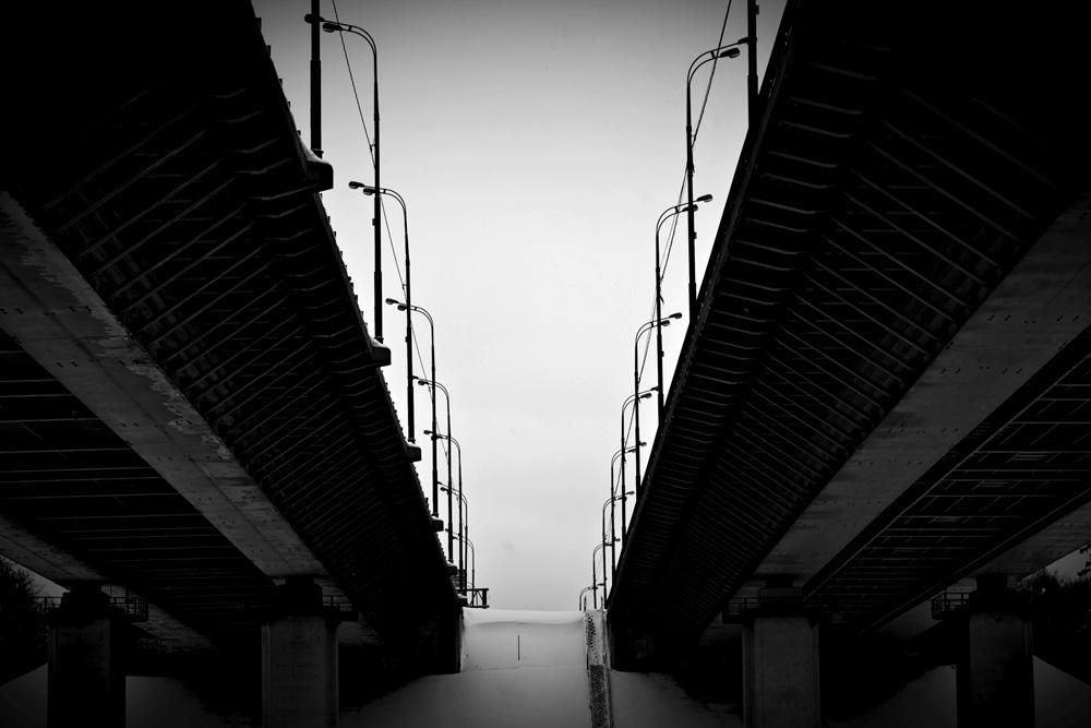 Химкинский мост МКАД - фото урбан