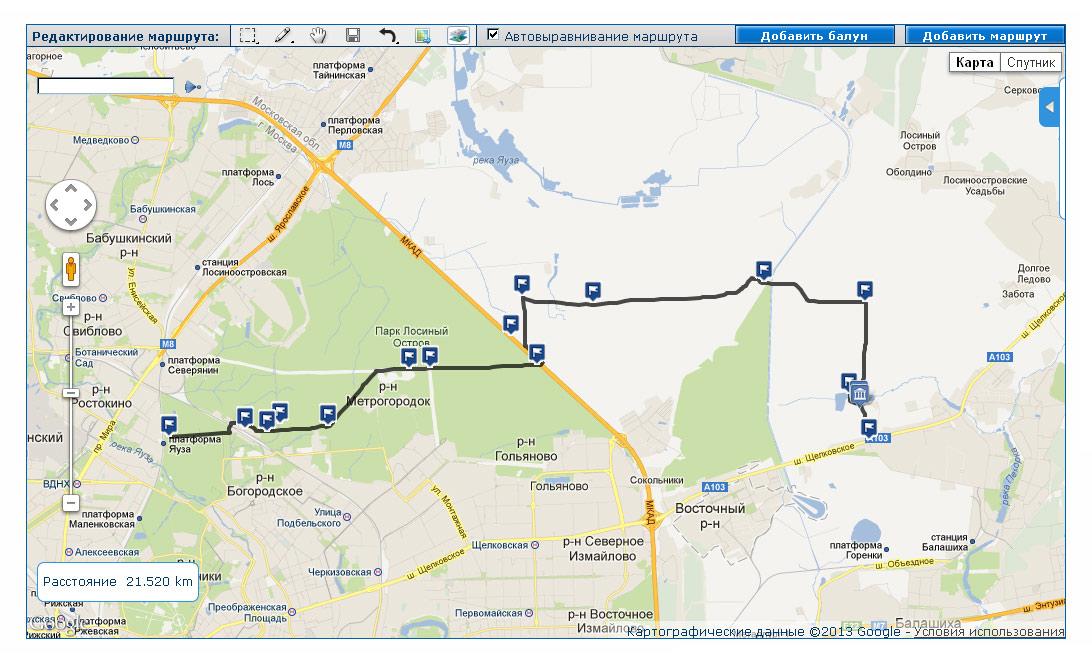 Garmin eTrex: Отрисовываем маршрут похода выходного дня