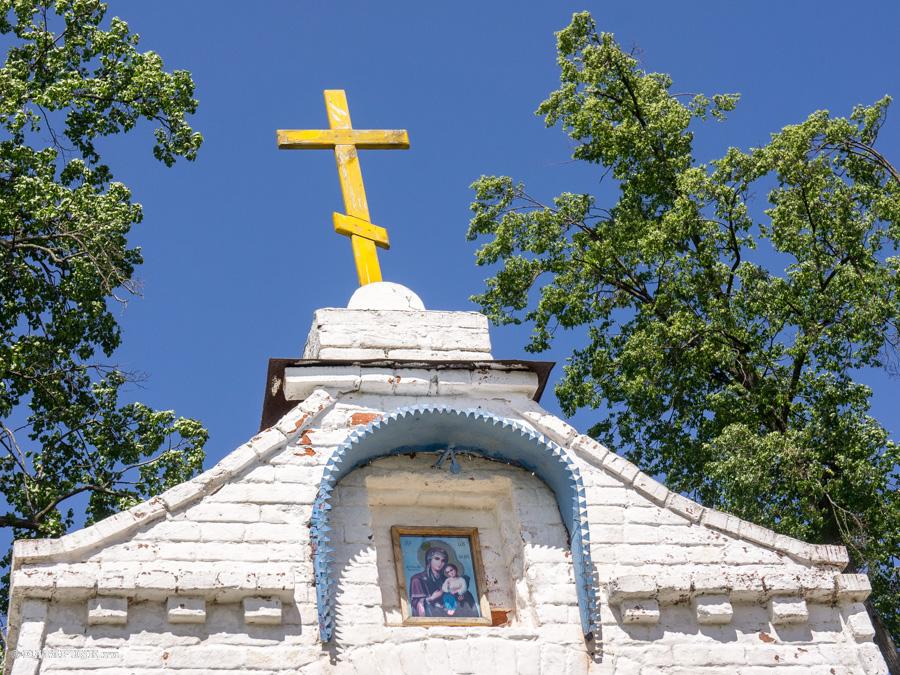 Женский монастырь в селе Спас-Купалище (подворье Свято-Боголюбского женского монастыря)