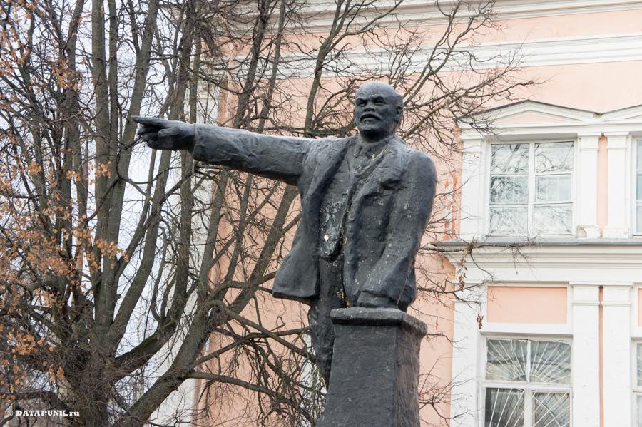 переславль памятник ленину ильичу
