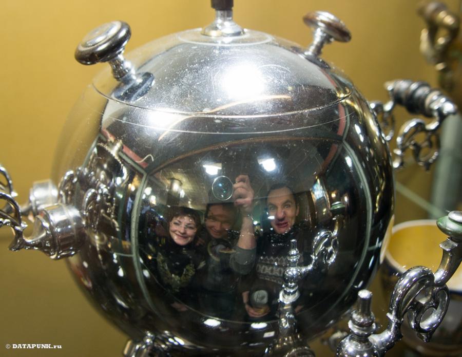 тульский музей самоваров и чайников даже