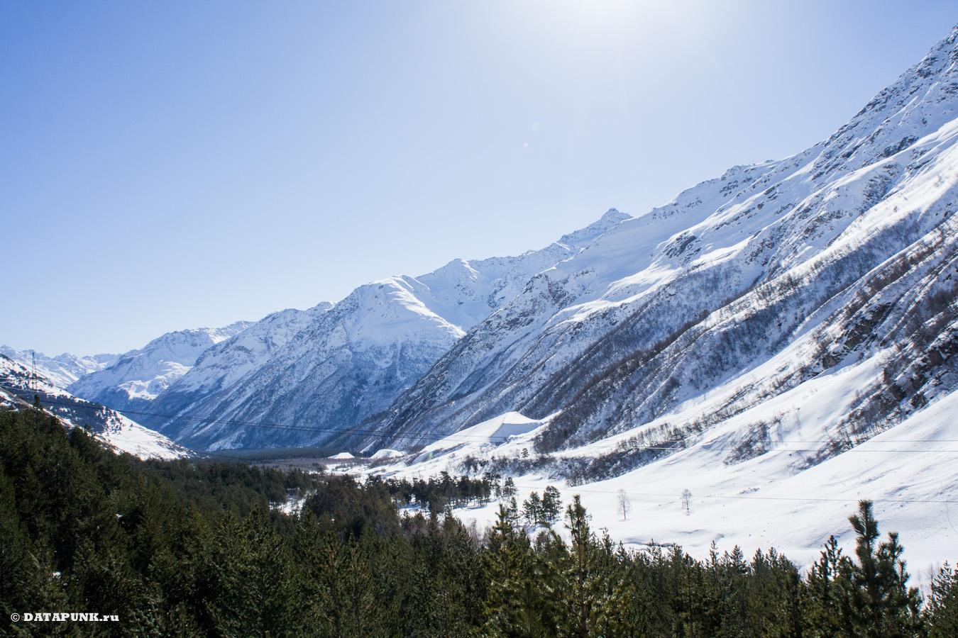 эльбрус терскол горы
