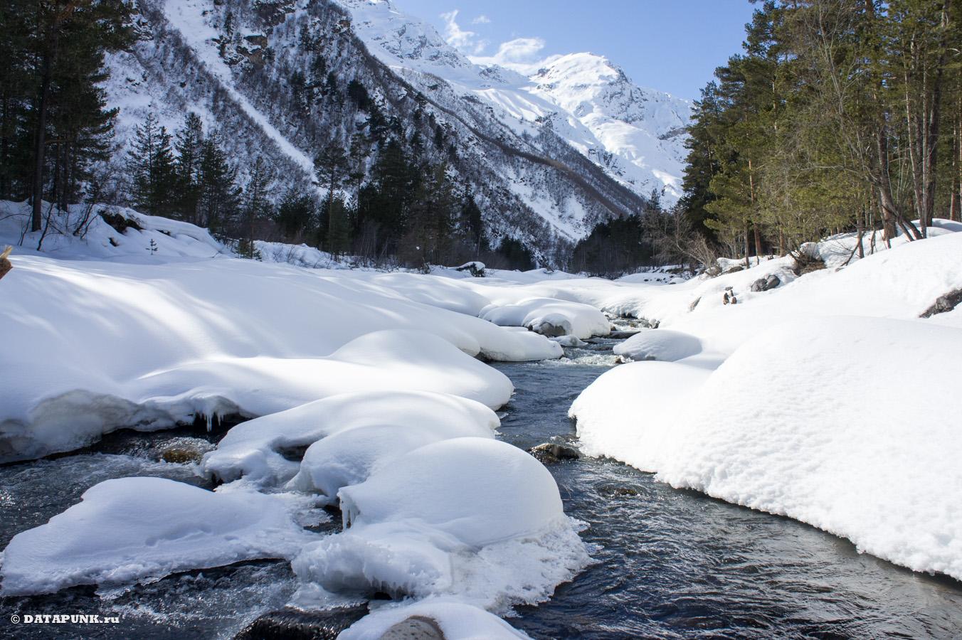 баксанское ущелье ручей