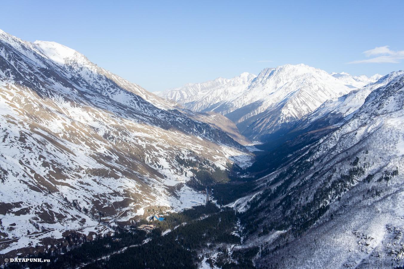 чегет гора и поляна туризм