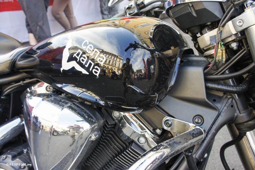 Санкт-Петербург и фестиваль Harley-Davidson