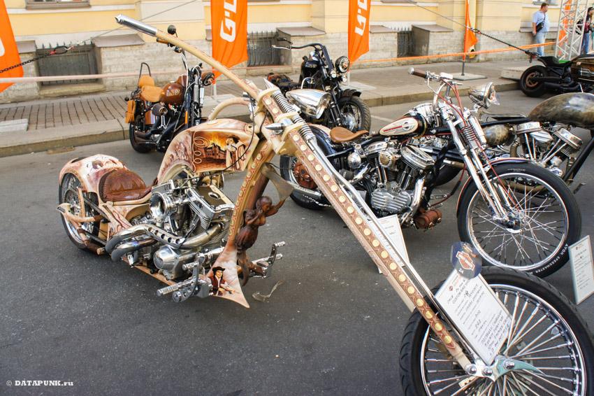 Санкт-Петербург и фест Harley-Davidson - Кастом выставка