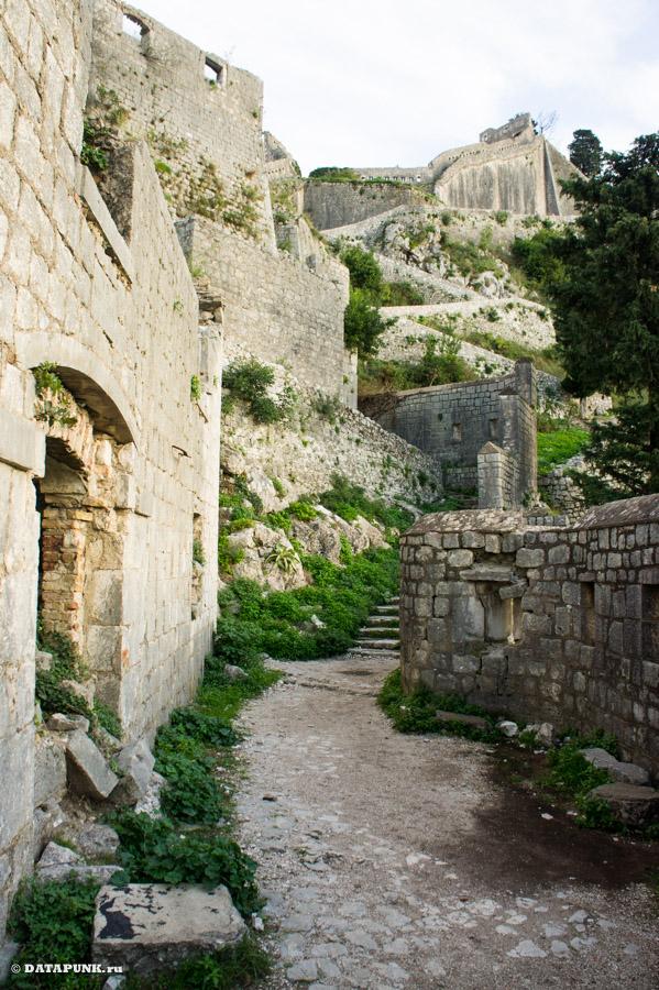 Крепости Черногория