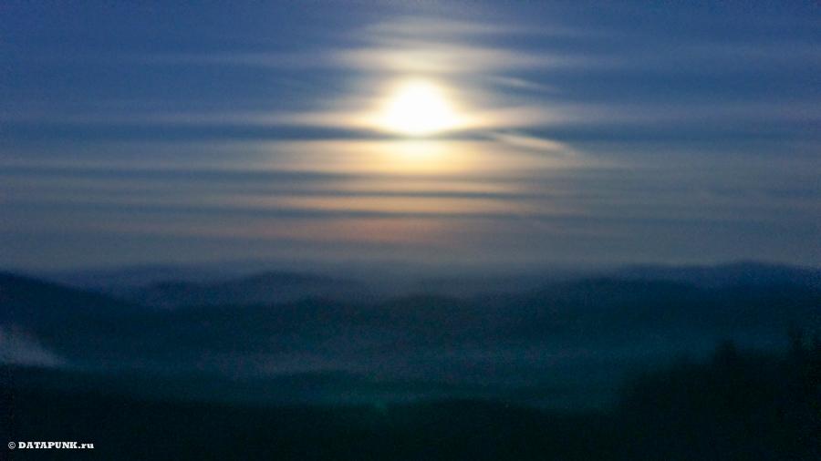 Закат над Дурмитором