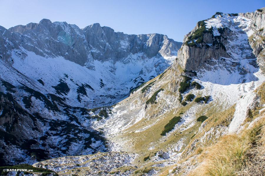 Хождение на гору Великий Медведь, Черногория, 2015 год.