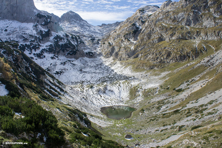 Ледниковое озеро в Дурмиторе, Черногория