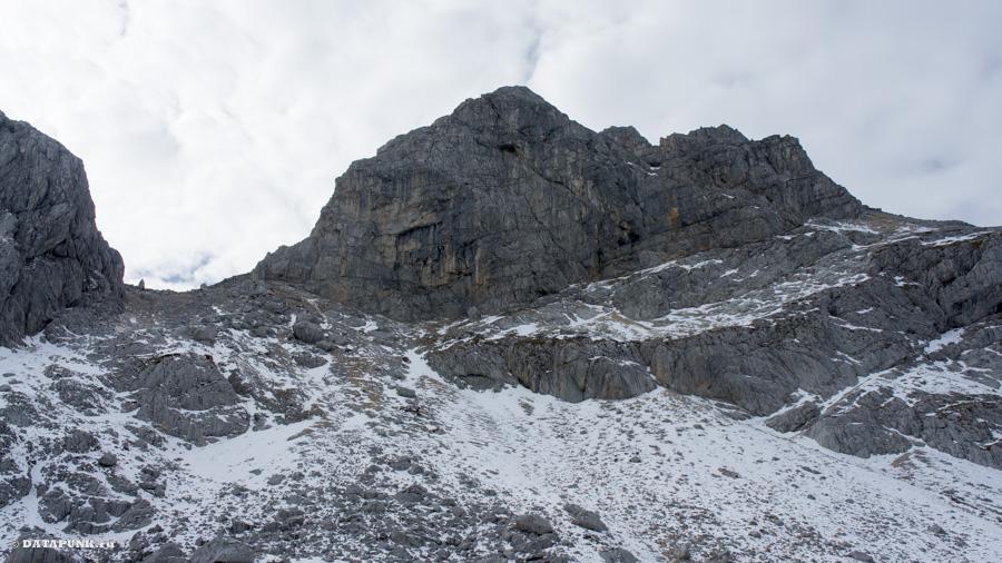 Пик горы Боботов Кук в Черногории