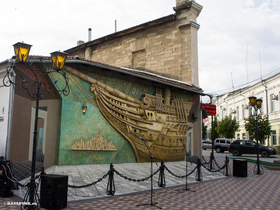 Феодосия, Крым, 2015 год