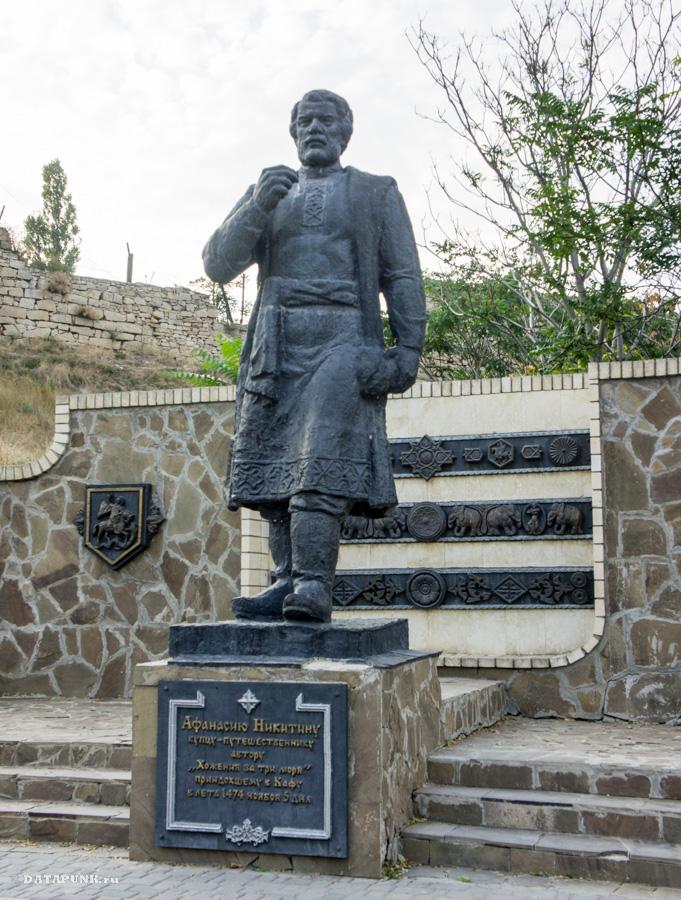 Афанасий Никитин - памятник в Феодосии