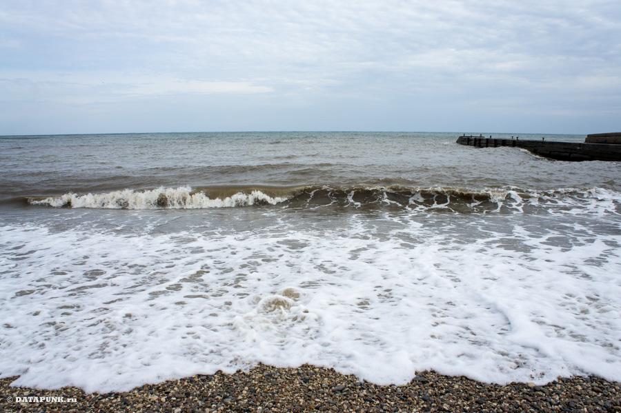 Черное море - перед штормом