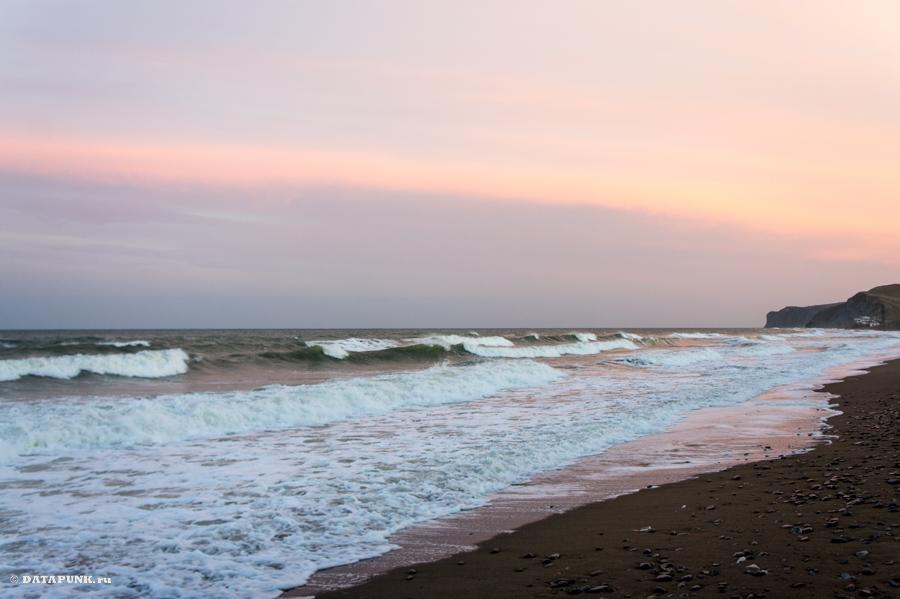 Поселок Прибрежное - пляж