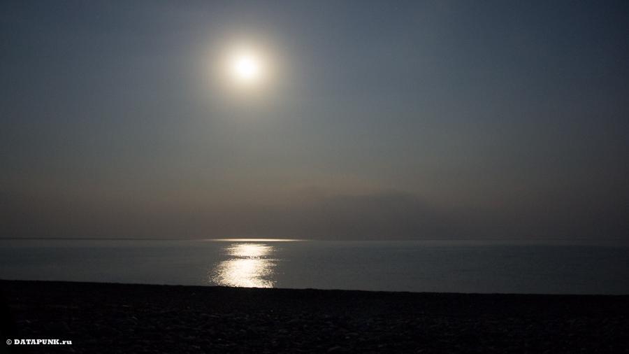 Луна, Канака, Крым, август 2015 г.