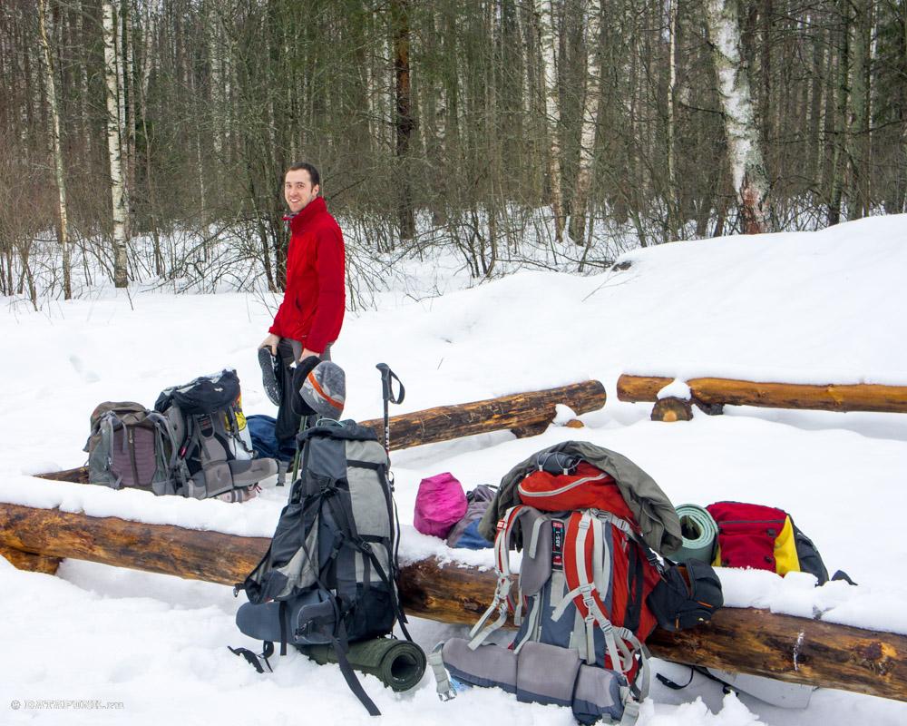 Зимний поход выходного дня по Мещере