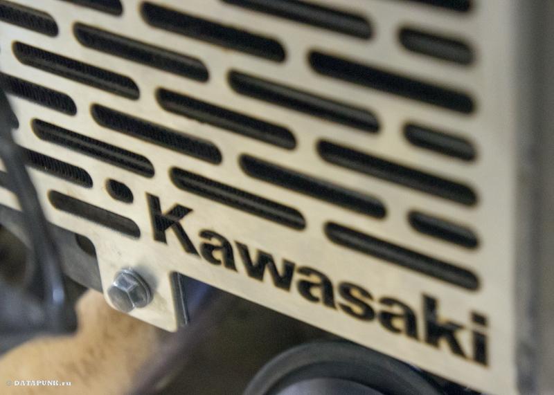 решетка для kawasaki versys 650 (KLE650) защита радиатора
