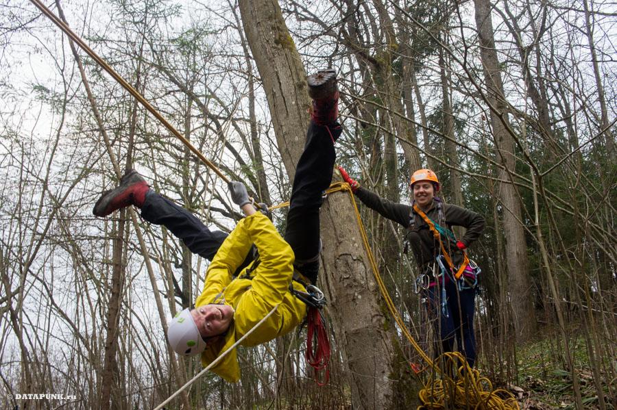 подготовка к соревнованиям по технике горного туризма