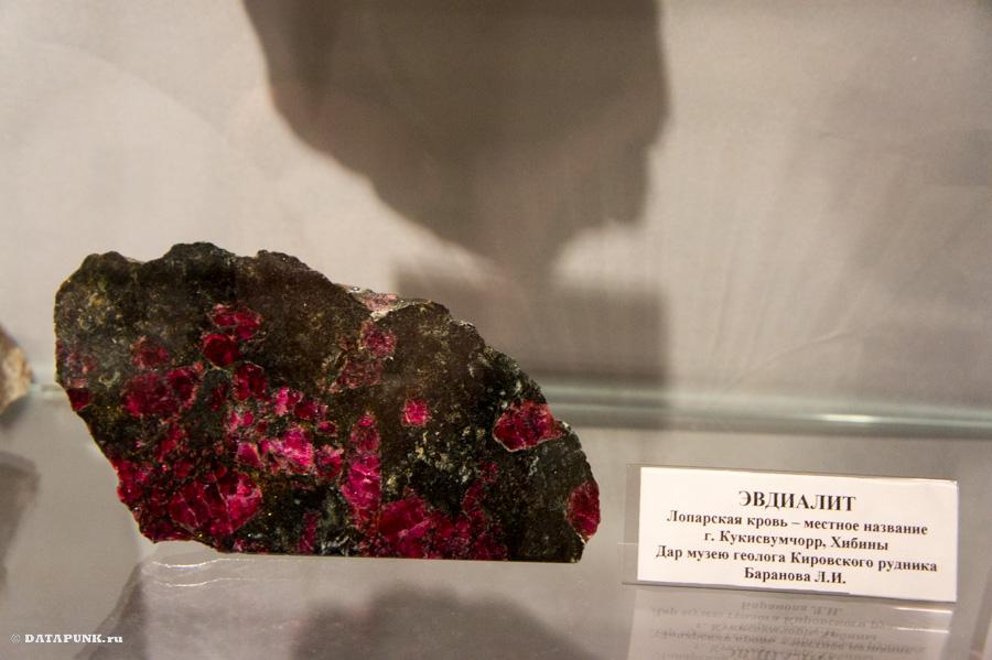 Музейно-выставочный центр АО «Апатит» - геолого-минералогический музей