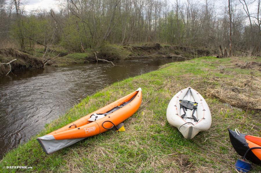 Река Держа! Каяк сплав!