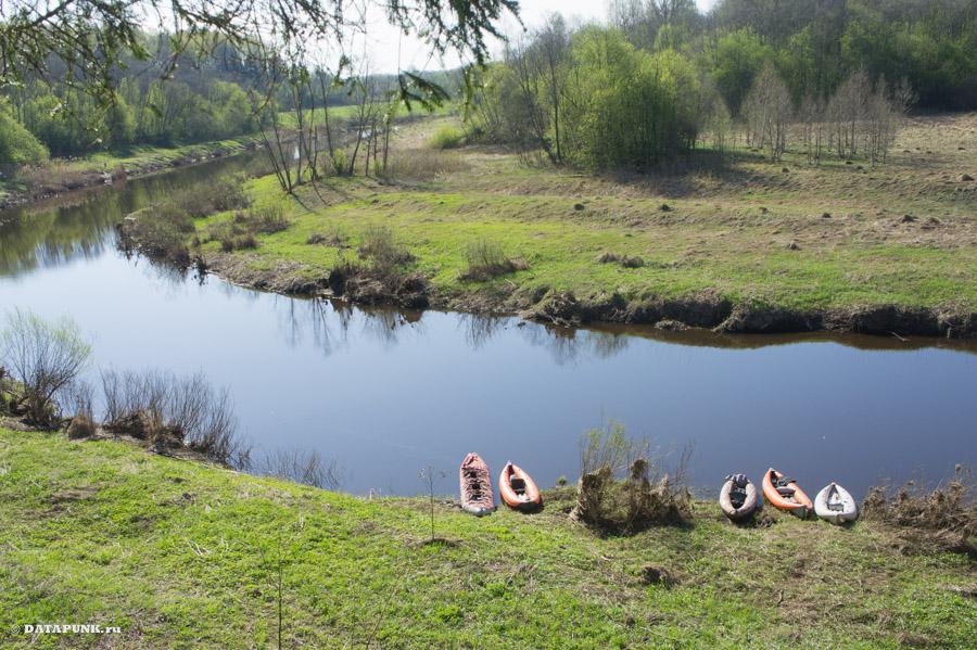 Стояние на реке Держа в Тверской области