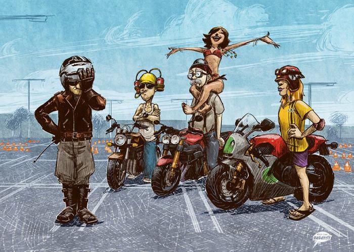 совет лайфхак для мотоцикла