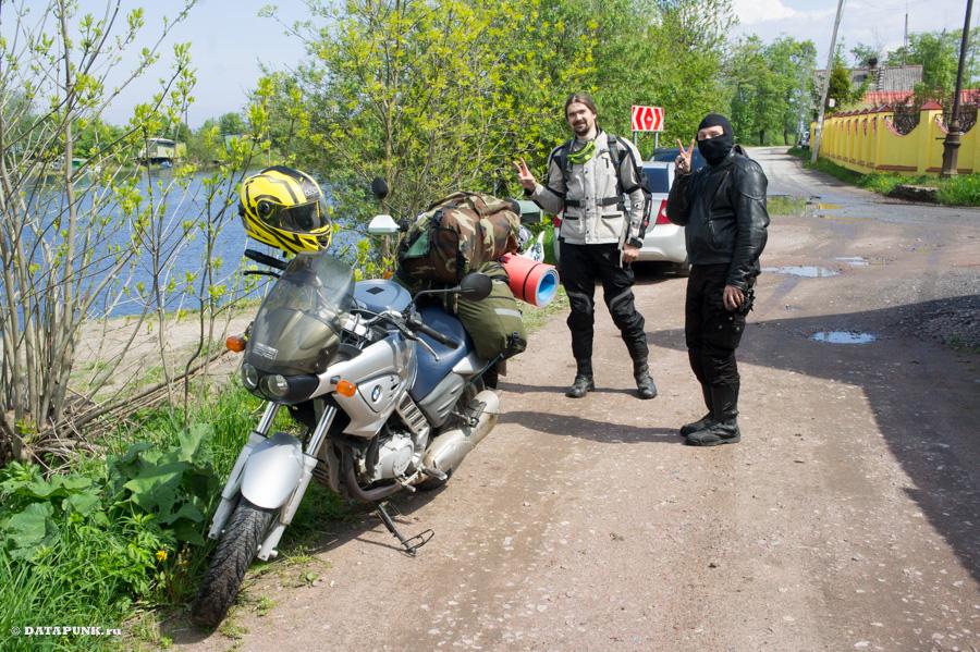 На мотоцикле вокруг Ладожского озера