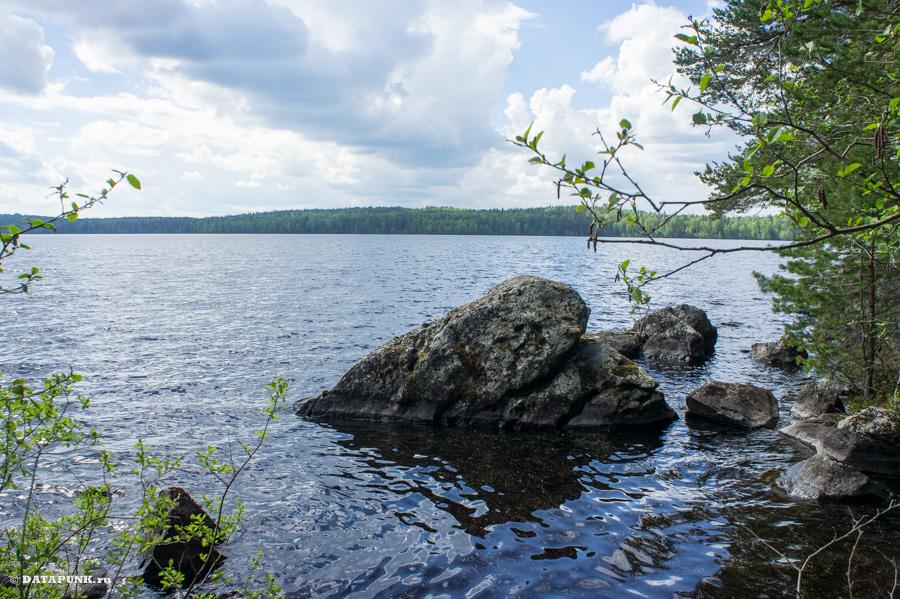 карельские озера около финляндии