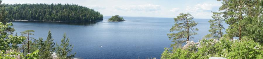 остров валаам панорама